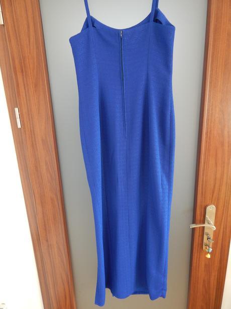 Dámské šaty modré vel. 38, 38