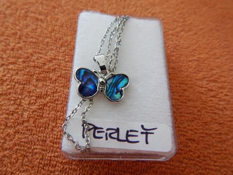 Dámský řetízek + přívěsek motýlek,