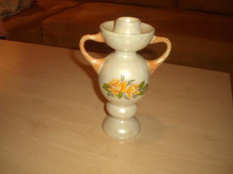 Porcelánový svietnik,
