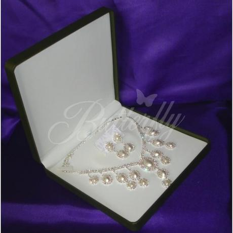 "2dielny set ""Sea pearls"","