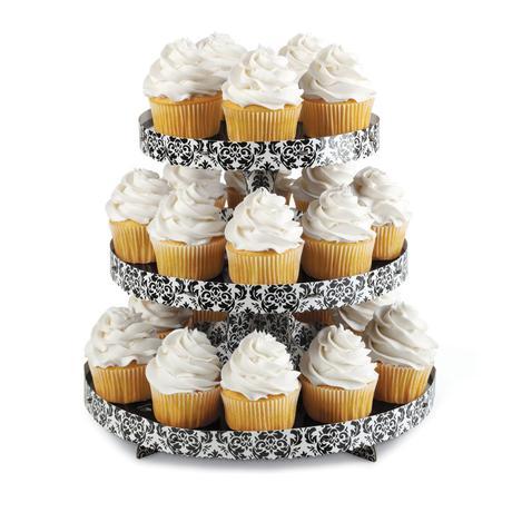 """3poschodový cupcake stojan """"Damask"""","""
