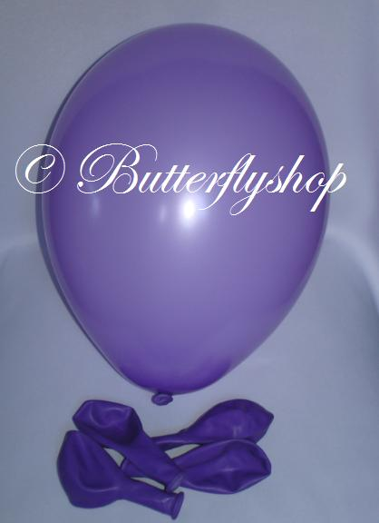 Balón 30cm - levanduľový,