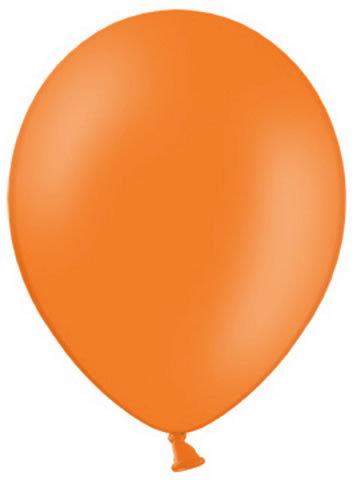Balón 30cm - pomarančový,