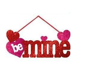 """Be Mine"" závesná ozdoba,"