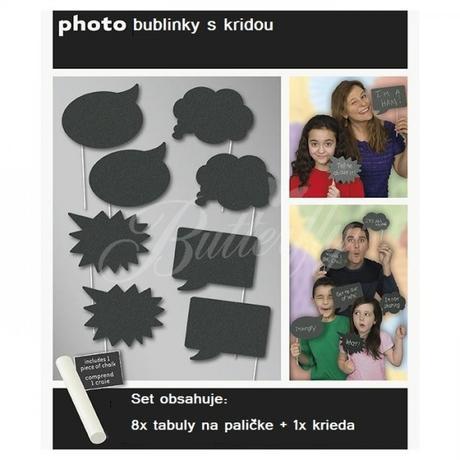 Bublinkový fotoset 8 + 1,