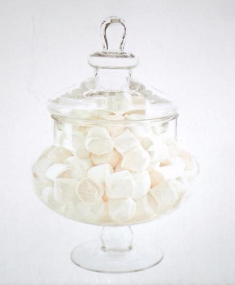 Candy Bar 33cm sklenená dóza s poklopom,