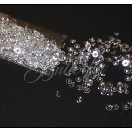 Dekoračné diamantíky 4 farby / 540ks,