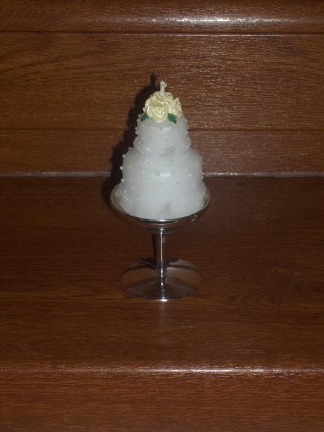 Dekoračné sviečky tortička + držiak Zadarmo,