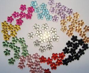 Dekoratívne kvetinky - 10farieb,