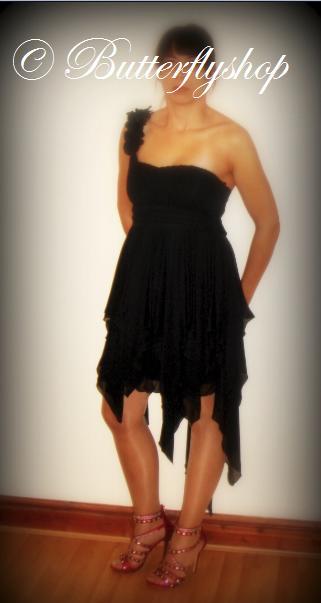 Fairy tale šaty - čierne, 40