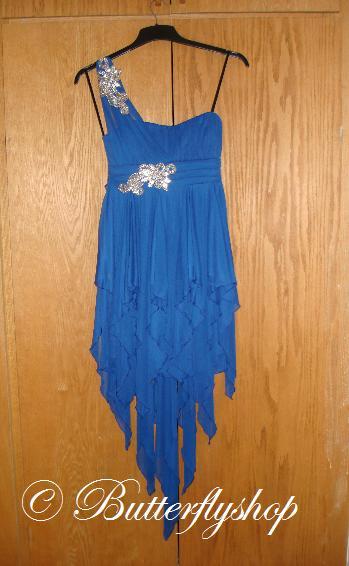 Fiary tale šaty - modré, 38