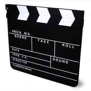 Filmárska klapka - doplnok pri foteni,