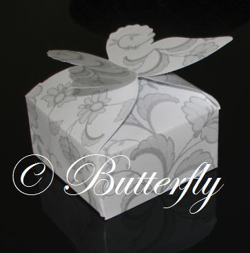 "Krabička ""Motýľ"","