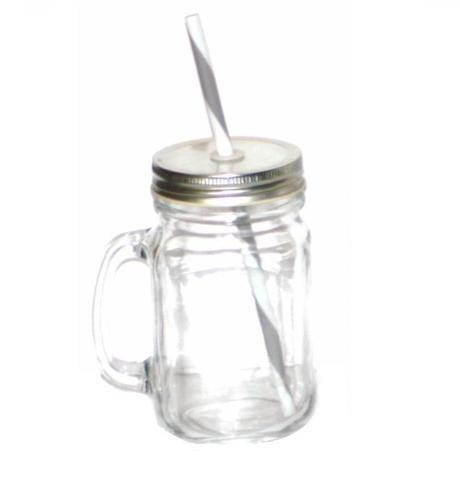 Nápojový pohár s viečkom a plastovou slamkou,