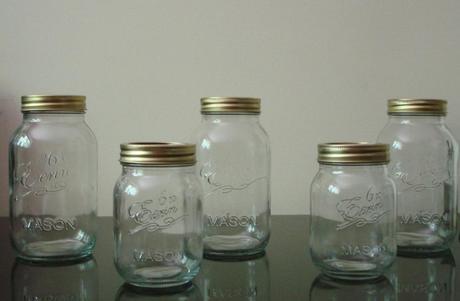 Originál poháre Mason,
