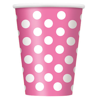 Párty poháriky / ružové DOT,