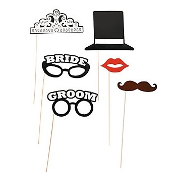 "Set ""Groom"" a ""Bride"" 6ks,"