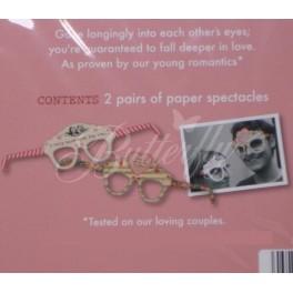 Set na fotenie - okuliare 2ks,