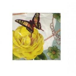 """Stolové servítky """"motýľ"""" - 40ks,"""