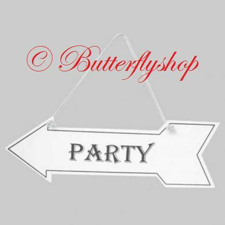 """Závesná tabuľa """"Party"""","""