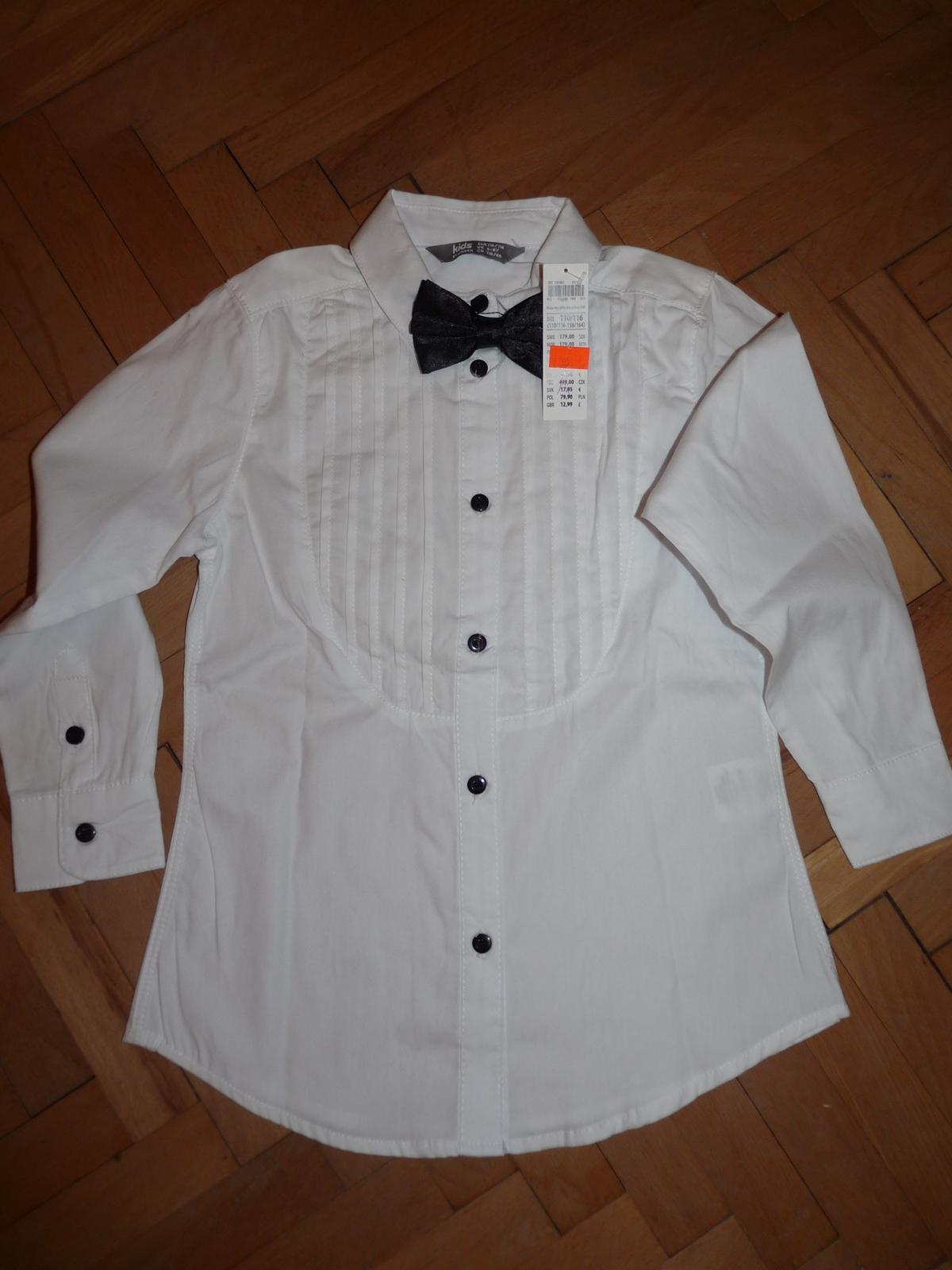 bf7faa322d4 Košile včetně motýlka