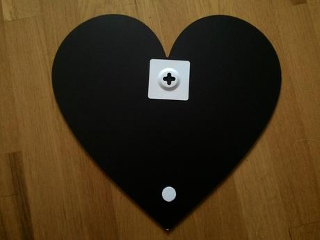 Tabulka ve tvaru srdce,