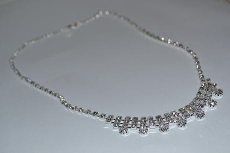 štrasový náhrdelník - Nepoužitý,