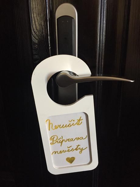 Cedule na dveře,