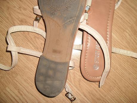 2 x obute sandalky, 38