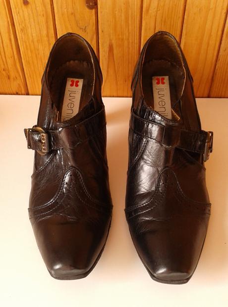 Kožené kotníčkové boty , 41