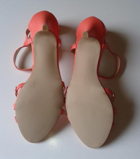 Neonové sandálky , 40