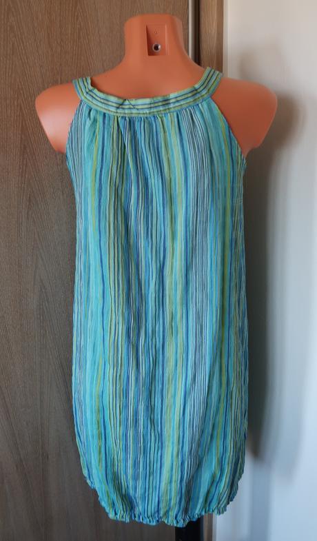 Pruhované šaty, S