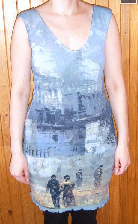 Šaty s potiskem města, S
