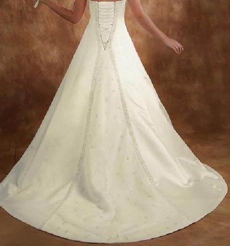 Luxusní svatební šaty 38-44 - ručně šité pc. 21000, 38