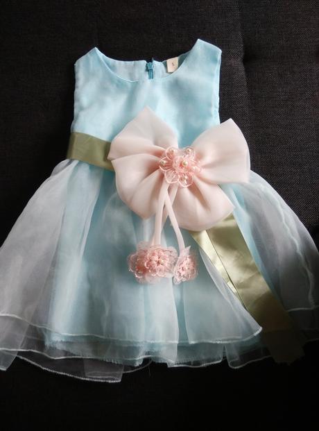 Šaty pro družičku pro děti 13-18měsíců, 86