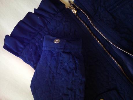 Luxusní šatečky s bundičkou, 98