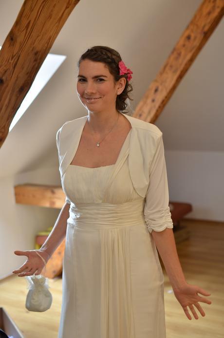 Svatební šaty, antický styl, 42