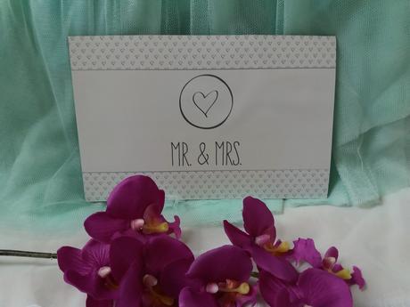 Magnetická dekorace novomanželů /just married,