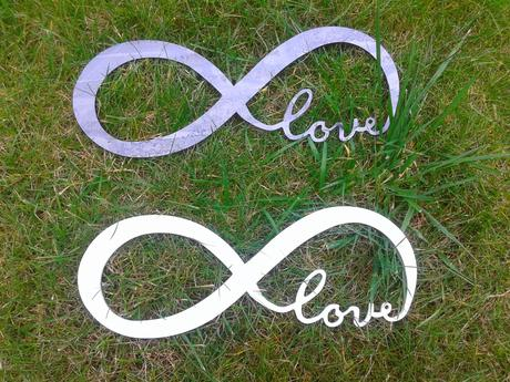 Nekonečná Láska Smyčka Dekorace Focení Svatební,