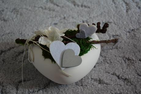 Srdce dekorace,