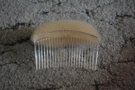 Vlasový hřebínek na drdol, závoj,