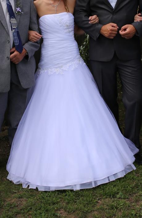 Svatební šaty 34-38, 36