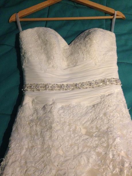 svadobne šaty - dabra by enzoani blue, 36