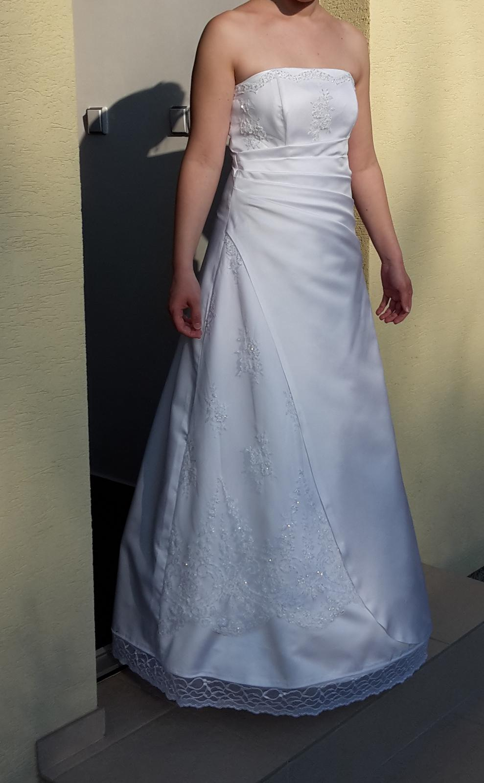 411daf774622 Svadobné šaty 36 38