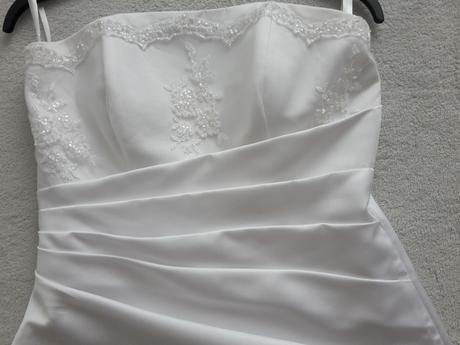 svadobné šaty 36/38 + grátis doplnky, 38