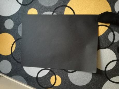 Černý papír A3,