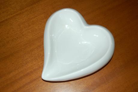 Miska v tvare srdca ,