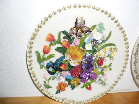 keramické tanierky,