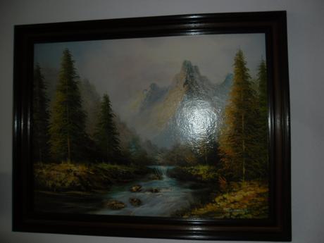 maľované obrazy,