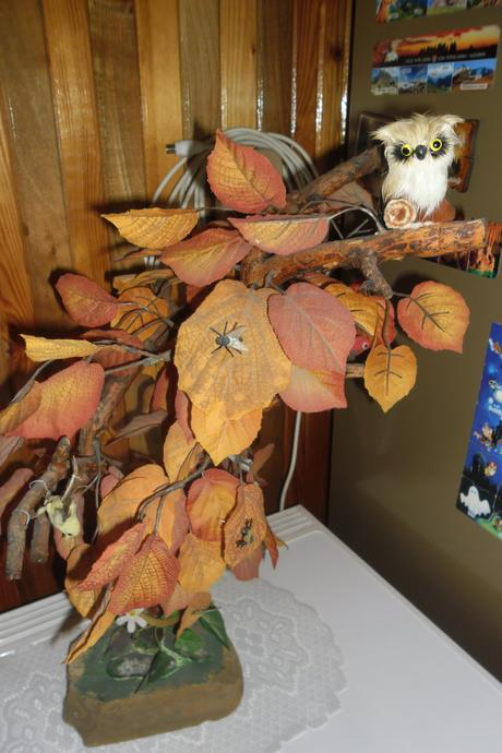 umelý bonsay,
